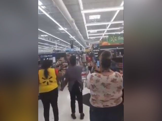 Walmart worshipping