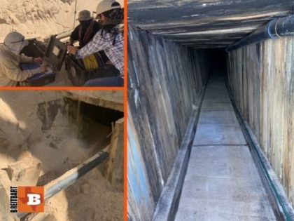 "Border Patrol and HSI agents discover the ""most sophisticated"" smuggling tunnel in U.S. history near San Luis, Arizona, in July 2020. (Photos: U.S. Immigration and Customs Enforcement)"