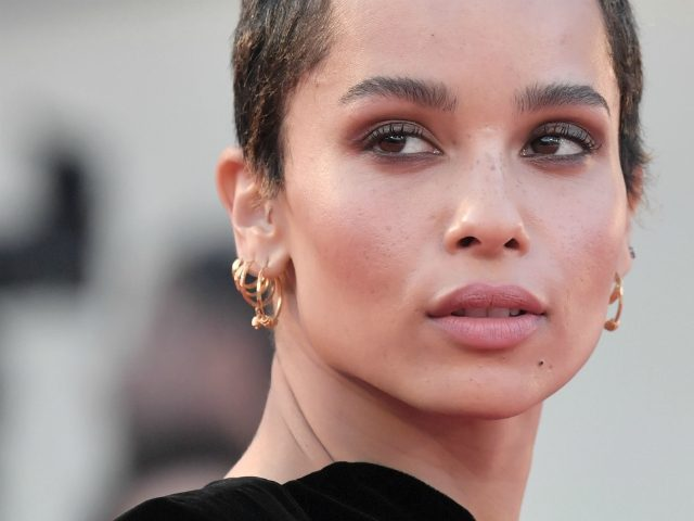 Model and actress Zoe Kravitz attends the premiere of the movie Racer And The Jailbird (Le Fidele) presented out of competition at the 74th Venice Film Festival on September 8, 2017 at Venice Lido. / AFP PHOTO / Tiziana FABI (Photo credit should read TIZIANA FABI/AFP via Getty Images)