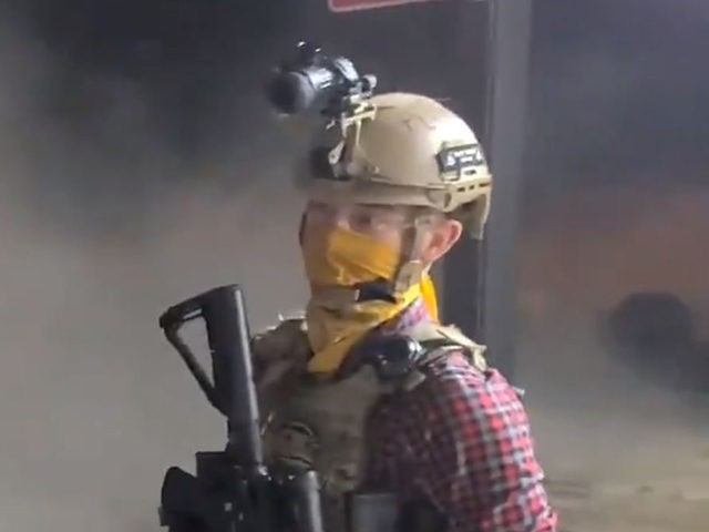 Watch: Armed Citizens Move to Defend Kenosha Businesses as Rioters Torch the City