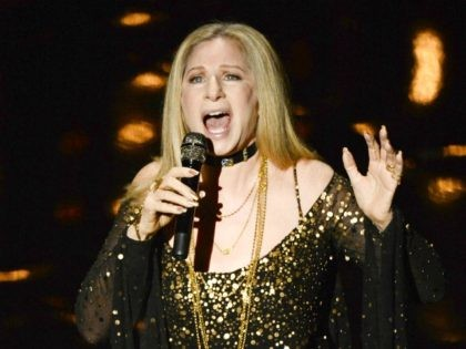 HOLLYWOOD, CA - FEBRUARY 24: Singer/actress Barbra Streisand performs onstage during the Oscars held at the Dolby Theatre on February 24, 2013 in Hollywood, California. (Photo by Kevin Winter/Getty Images)