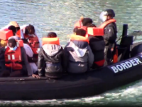 WATCH: Migrant Boat 'Shadowed' Into British Waters by French Ships