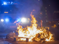 20 Arrests After Rioters Attack Dutch Police with Stones, Fireworks, and Eggs