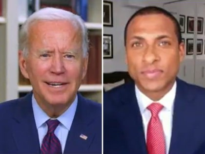 Watch–Joe Biden Snaps at Black Reporter over Cognitive Test Question: 'Are You a Junkie?'
