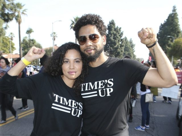 ***FILE PHOTO*** Jussie Smollett hires Michael Cohen's Attorney after alleged suspects released. LOS ANGELES, CA - JANUARY 15: Jurnee Smollett-Bell and Jussie Smollett at the 2018 Kingdom Day Parade in honoring the life and legacy of Dr. Martin Luther King, Jr. at Baldwin Hills in Los Angeles, California on January …