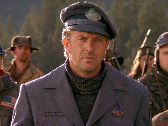 Kevin Costner in The Postman (Warner Bros., 1997)