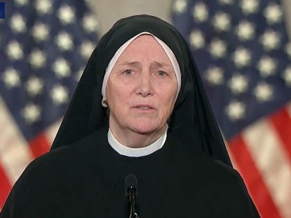 Sister Byrne at RNC: 'the Largest Marginalized Group in the World' is the 'Unborn' Sister Deirdre Byrne / RNC August 26, 2020