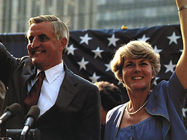 Walter Mondale, Geraldine Ferraro