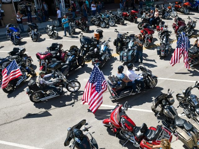 Bikers Flock to Sturgis Motorcycle Rally in South Dakota