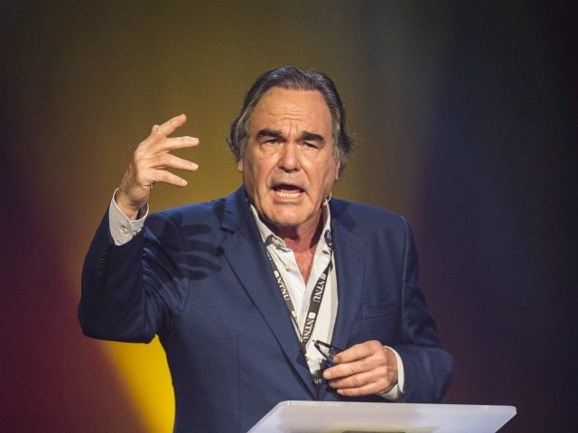 TRONDHEIM, NORWAY - JUNE 21: Oliver Stone gives a speech on truth in film during the Starmus Festival on June 21, 2017 in Trondheim, Norway. (Photo by Michael Campanella/Getty Images)