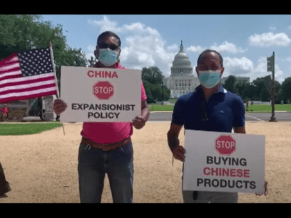 Indian, Vietnamese & Tibetan community hold anti-China protest in Washington