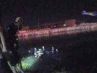 VIDEO: Salt Lake City Police, Firefighters Rescue Kids from Submerged Car