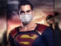 Superman Pushes Masks in CW Network Campaign: 'Real Heroes Wear Masks'