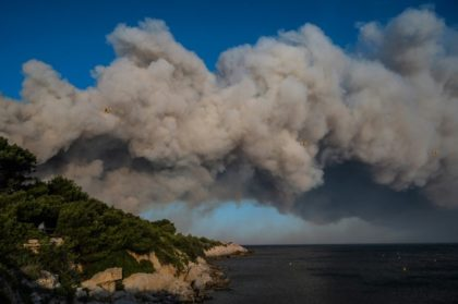 Forest fire in southern France triggers evacuations