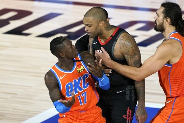 Tucker, Schroder ejected from Rockets-Thunder playoff game ...
