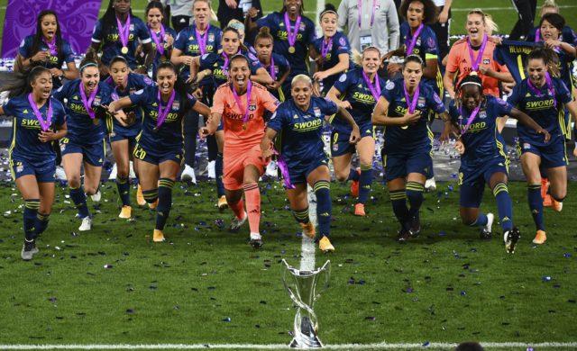 Lyon wins 5th straight women's Champions League title ...