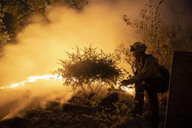 California wildfires: Santa Cruz evacuation site reaches capacity