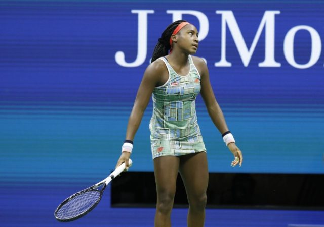 Coco Gauff exits US Open with first-round loss to Anastasija Sevastova