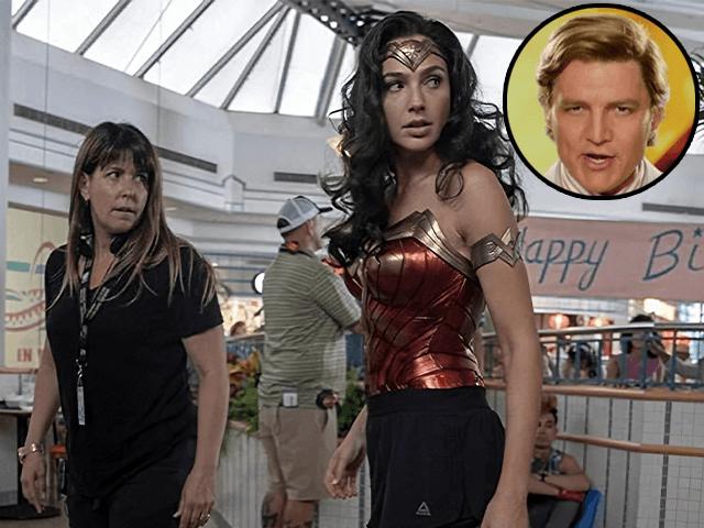 Patty Jenkins and Gal Gadot in Wonder Woman 1984 (2020)