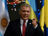 President Ivan Duque says Colombia is pleased to be chosen to host the Copa America final in 2020