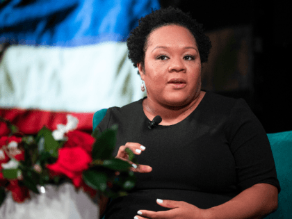 Journalists explore the topic of race and the media at The Summit on Race in America at the LBJ Presidential Library on Wednesday, April 10, 2019. Yamiche Alcindor White House correspondent for the PBS NewsHour discusses whether the media covers race comprehensively and fairly, the growing perception of media bias, …