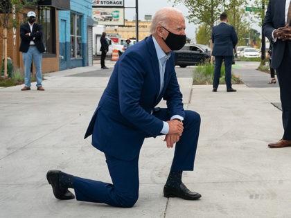 Joe Biden Drops by Three Thirteen Clothing Store - Detroit, MI - September 9, 2020