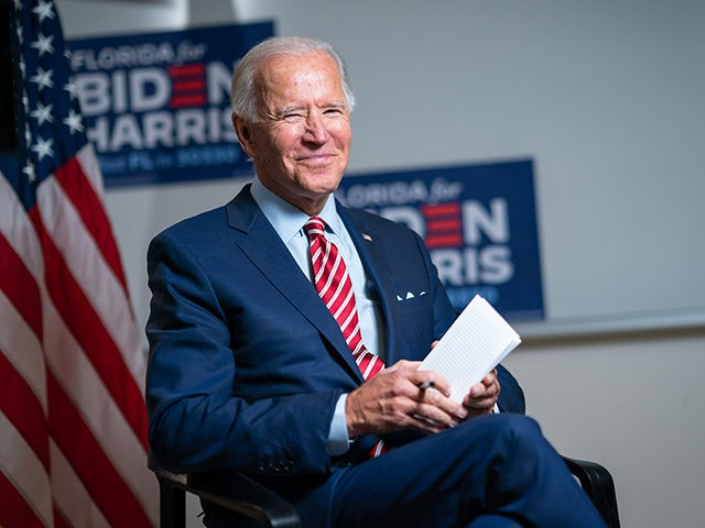 Joe Biden Sit-down with Telemundo's Jose Diaz-Balart - Tampa, FL - September 15, 2020