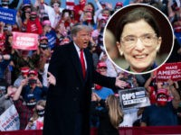Supporters Shout 'Fill That Seat' as Trump Remembers Ruth Bader Ginsburg
