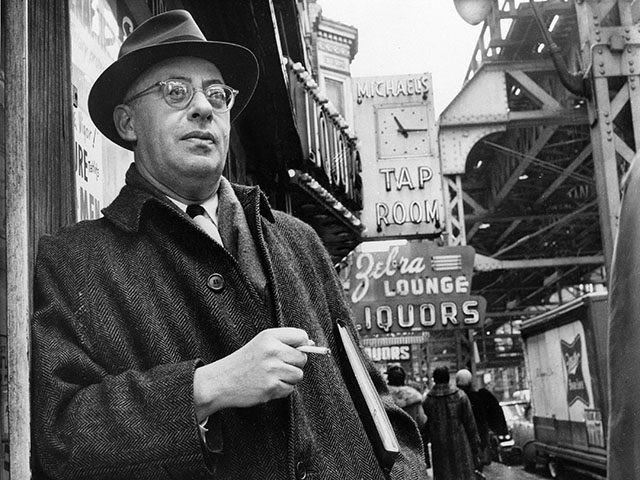 Saul Alinsky, a professional organizer with a strong aversion to welfare programs, is shown in this photo dated Feb. 20, 1966 on Chicago's south side where he organized the Woodlawn area to battle slum conditions. Alinsky organized the Woodlawn area to battle slum conditions. (AP Photo)