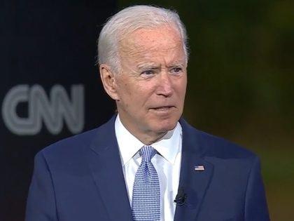 Joe Biden on 9/17/2020 CNN Town hall