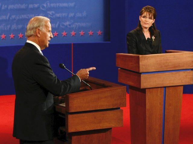 Biden Palin debate (Rick Wilking-Pool / Getty)