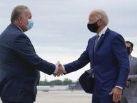 Leading by Example: Joe Biden Breaks Coronavirus Rules, Shakes Hands in Wisconsin