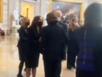 Video: Kamala Harris Snubs Hug from Dianne Feinstein