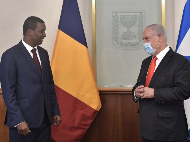 Chad and Netanyahu (Courtesy GPO Kobi Gideon)