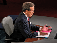 Moderator Chris Wallace Receives Blowback After Rocky Debate