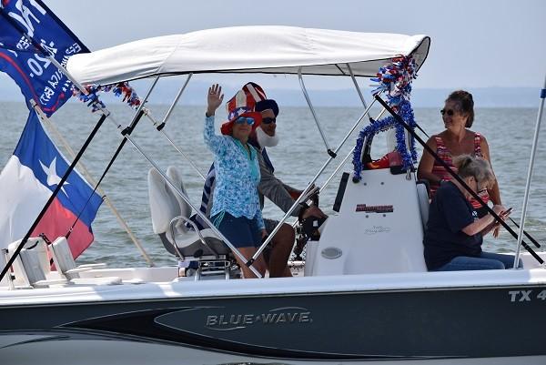 Lake Livingston Trump Boat Parade. (Photo: Lana Shadwick/Breitbart Texas)