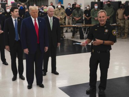 David Beth and Trump (Evan Vucci / Associated Press)