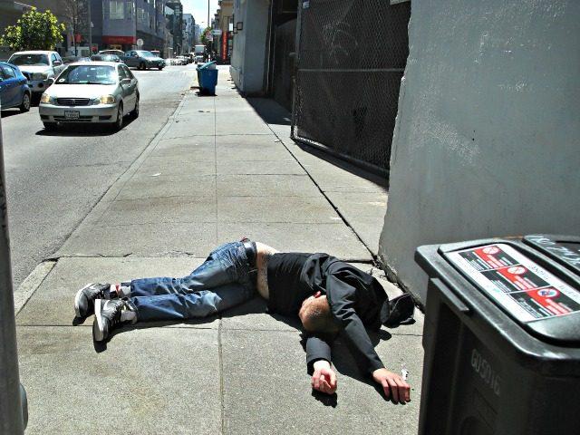 Drug Overdose on San Francisco Street