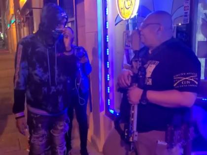 Fadi Faouri confronted by BLM