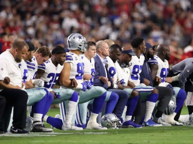 Cowboys Protest