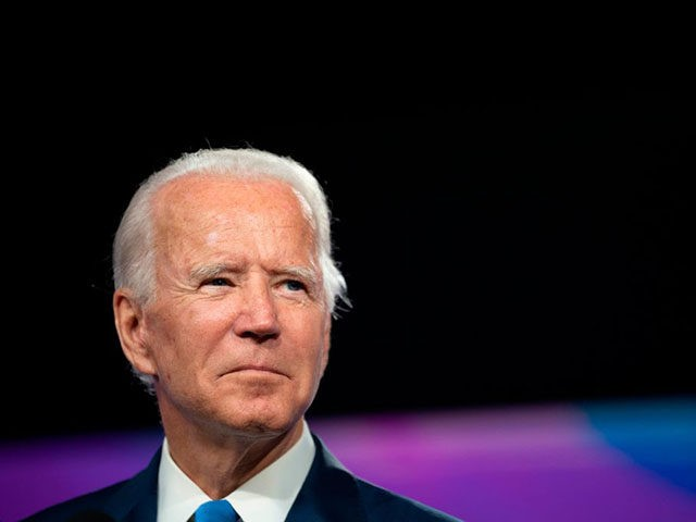 Democratic presidential candidate Joe Biden speaks after a virtual meeting on safe school reopening, in Wilmington, Delaware, on September 2, 2020. (Photo by JIM WATSON / AFP) (Photo by JIM WATSON/AFP via Getty Images)