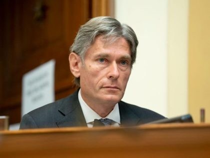 WASHINGTON, DC - SEPTEMBER 16: Representative Tom Malinowski, (D-NJ), speaks during a House Foreign Affairs Committee hearing on September 16, 2020 in Washington, DC. The hearing is investigating the firing of State Department Inspector General Steve Linick. (Photo by Stefani Reynolds-Pool/Getty Images)