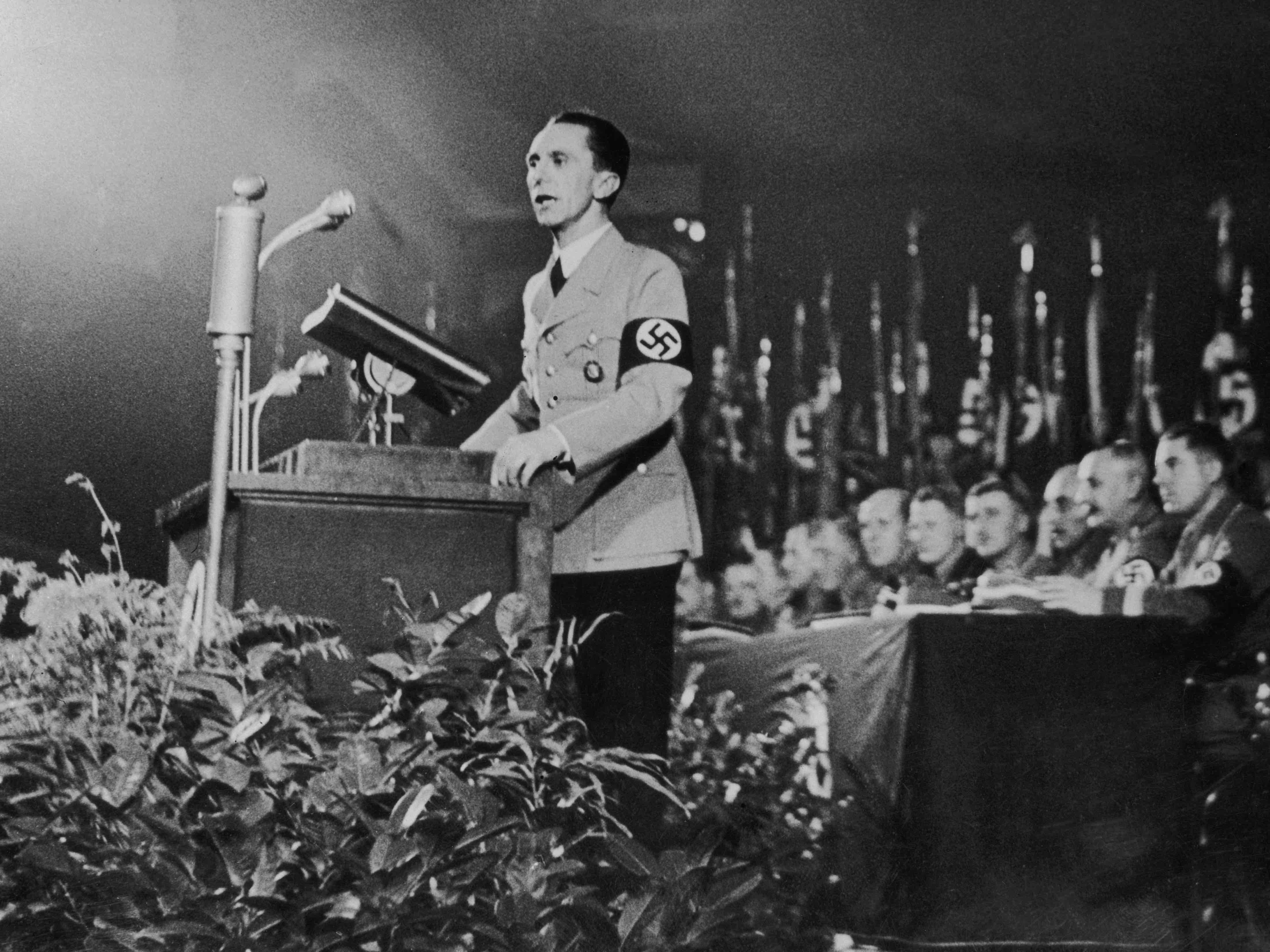 Goebbels (Hulton Archive / Getty)