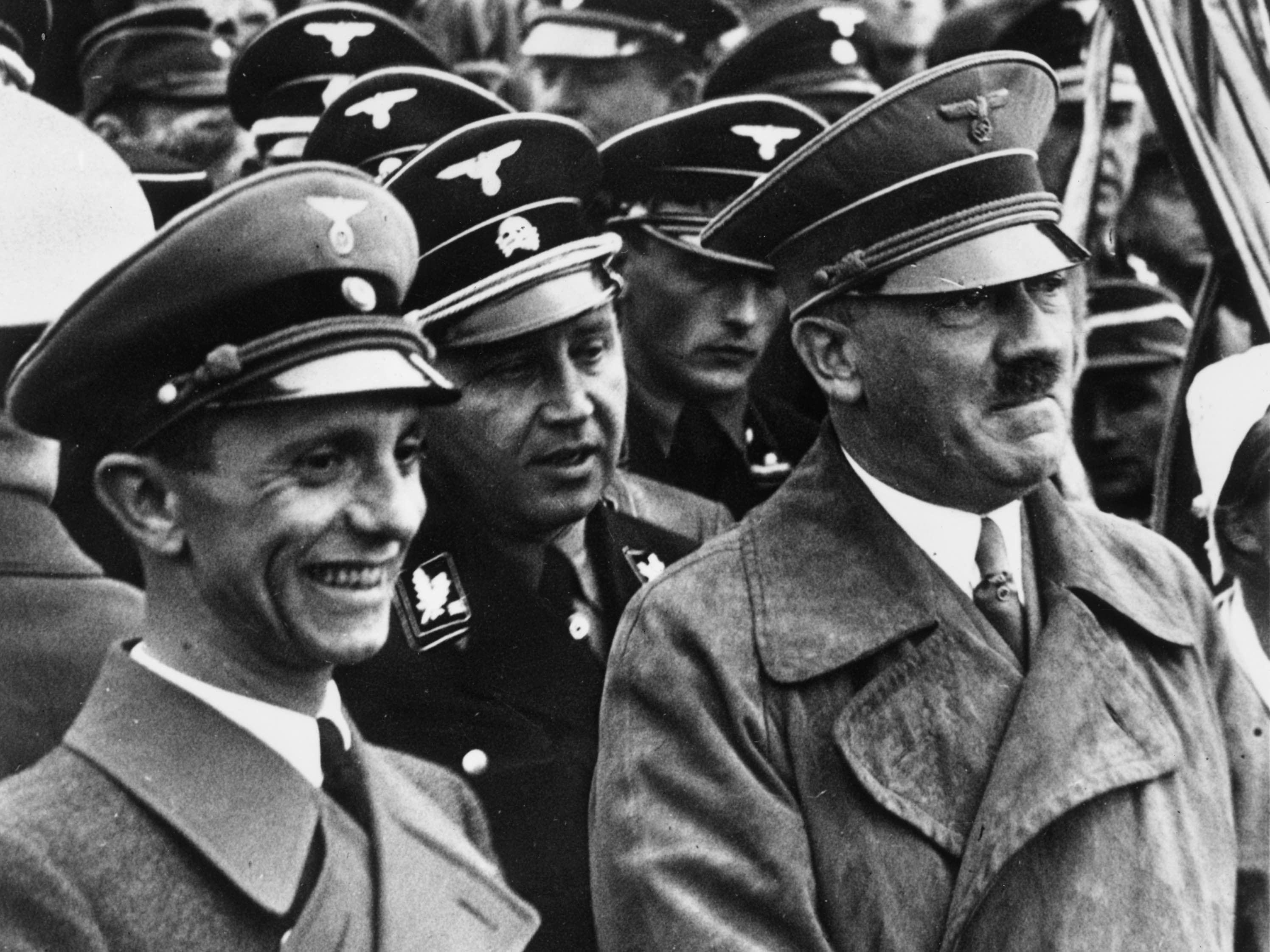 Goebbels and Hitler (Hulton Archive / Getty)