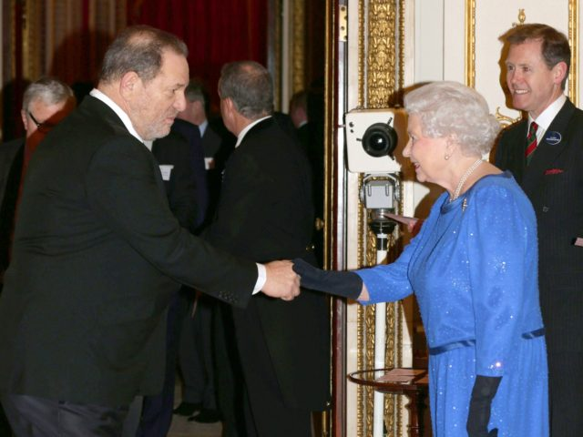 Harvey Weinstein stripped of top British honor by Queen