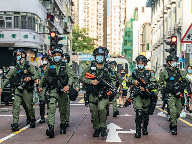 Hong Kong police launch national security crime hotline