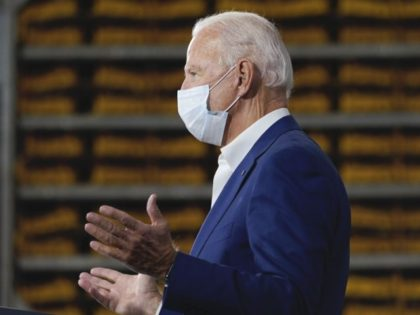 Joe-Biden Wears Mask on Zoom Conference