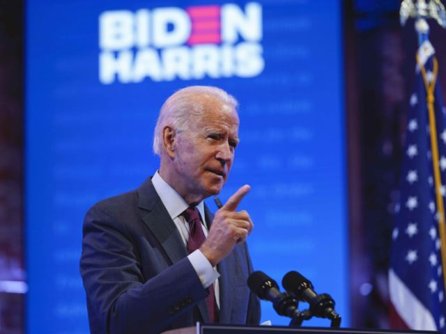 Joe Biden slams Amy Coney Barrett (Andrew Harnik / Associated Press)
