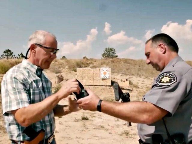 Ken Buck Shooting with the Sheriff