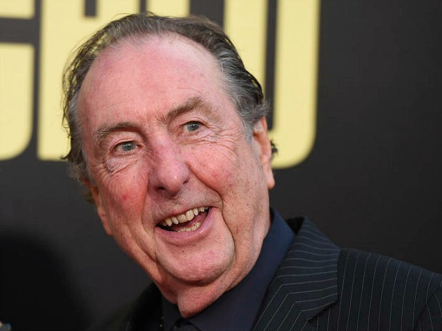 """Eric Idle arrives at the Los Angeles premiere of """"Snatched"""" at the Regency Village Theater on Wednesday, May 10, 2017. (Photo by Jordan Strauss/Invision/AP)"""